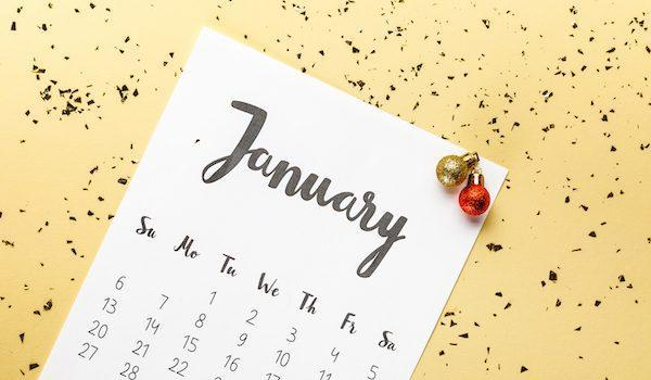 January 2019 calendar for college financial planning
