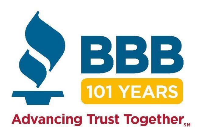 BBB 101 Year Logo