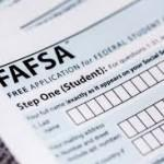 The FAFSA form.