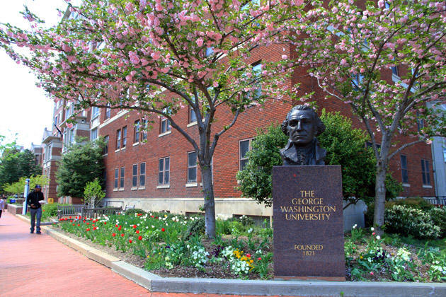GWU Campus Front