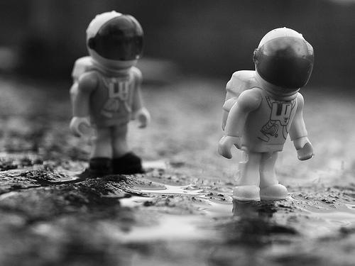 Mini Astronaut Figures