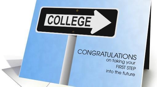 college congrats card