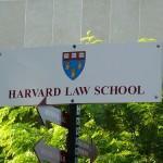 Sign of Harvard Law School