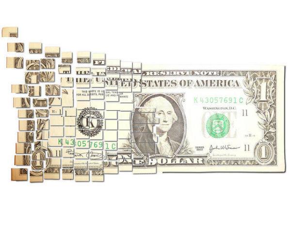 Dollar Breaking Up & Floating Away